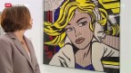 Video «Roy Lichtenstein im Centre Pompidou» abspielen