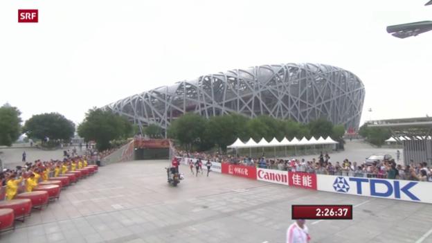 Video «Leichtathletik: WM in Peking, letzte Entscheidungen» abspielen