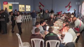 Video «Besuch eines Flüchtlingslagers im Libanon» abspielen