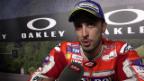 Video «MotoGP-Sieger Dovizioso: «Unbeschreibliches Gefühl»» abspielen