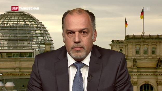 Video «Einschätzungen SRF-Deutschland-Korrespondent Peter Vögeli» abspielen