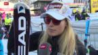 Video «Gut und Vonn ohne Punkte, Rebensburg gewinnt» abspielen