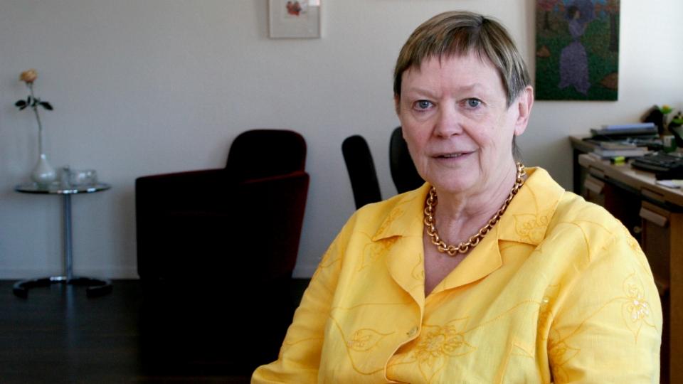 Katharina Bochsler über die Psychiaterin Brigitte Woggon