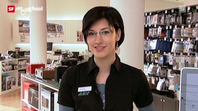Berufsbild: Detailhandelsfachfrau EFZ Consumer Electronics