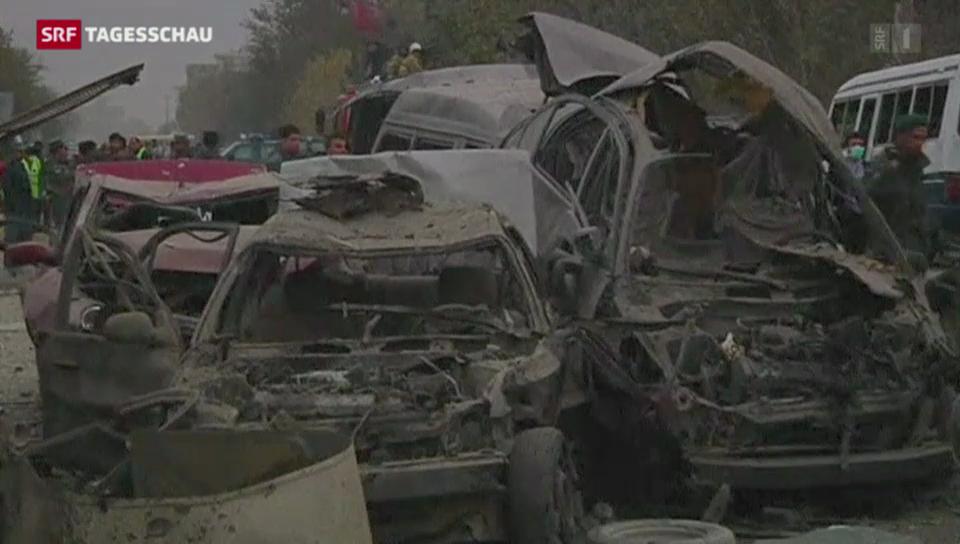 Anschlag in Kabul