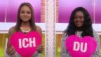 Video ««Ich oder Du»: Djoa Strassburg mit ihrer Mutter Françoise» abspielen