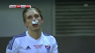 Video «Keine Tore bei Andorra - Färöer» abspielen