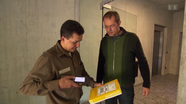 Video «Paketpost im Test: Post und private Zustellfirmen im Vergleich» abspielen