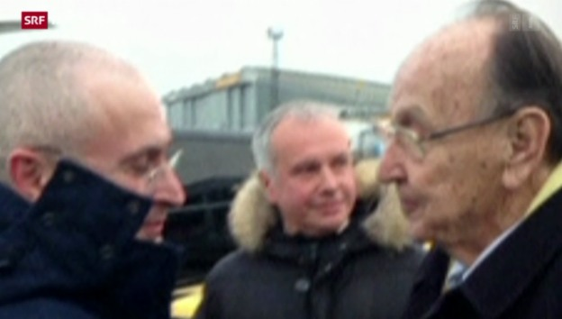 Video «Kreml-Kritiker Chodorkowski nach Deutschland gereist» abspielen