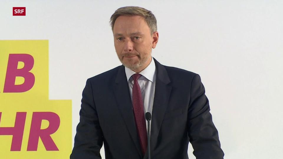 Lindner: «Wir haben den Vorschlag eines Gesprächs mit der SPD angenommen»
