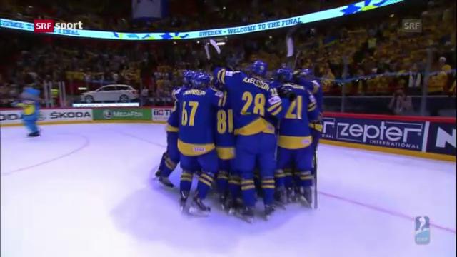 Eishockey-WM: Finnland-Schweden («sportaktuell»)