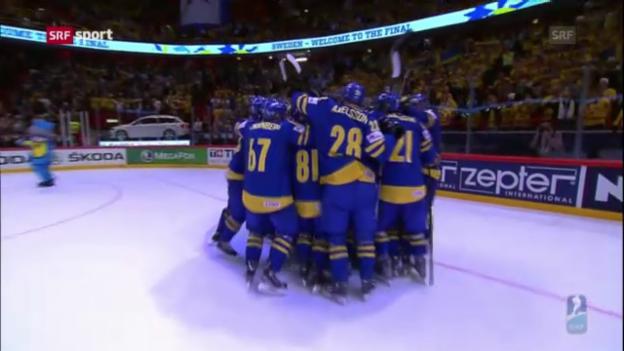 Video «Eishockey-WM: Finnland-Schweden («sportaktuell»)» abspielen