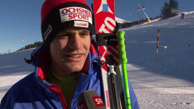 Video «Ski: Thomas Tumler im Interview» abspielen