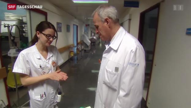 Video «Wenn das Spital krank macht» abspielen