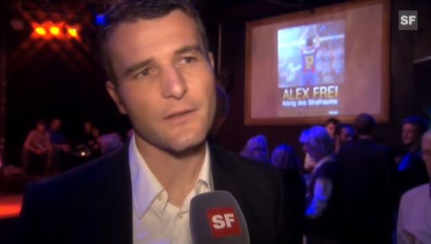 Video «Alex Frei: «Ich bin viel ausgeglichener geworden»» abspielen