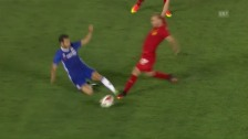 Video «Chelsea siegt – Fabregas fliegt» abspielen