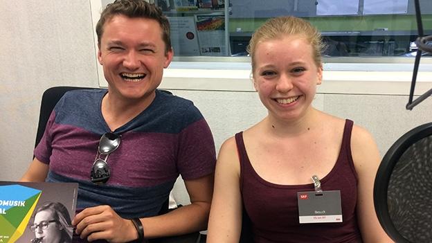 Janine Meier und René Halbheer zum WJMF-Programm