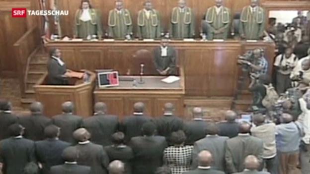 Video «Kenias Bericht bestätigt Wahlergebnis» abspielen