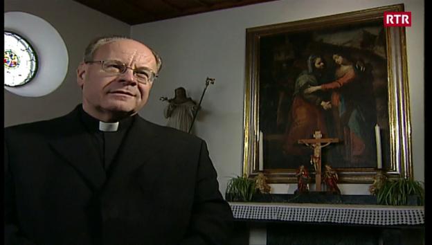 Laschar ir video «Nossadunna da la glisch - fanestra d'advent da Vitus Huonder»