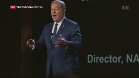 Video «Klimaaktivist Al Gore am Zurich Film Festival» abspielen