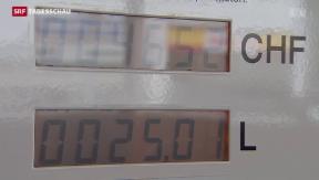 Video «Teures Benzin trotz des tiefen Ölpreises» abspielen