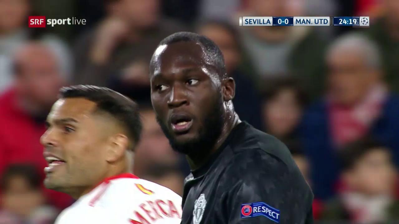 Sevilla - ManUnited: Live-Highlights