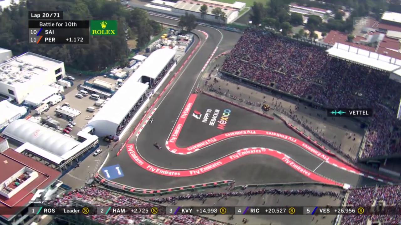 Der GP von Mexiko ist ein Rennen der Extreme
