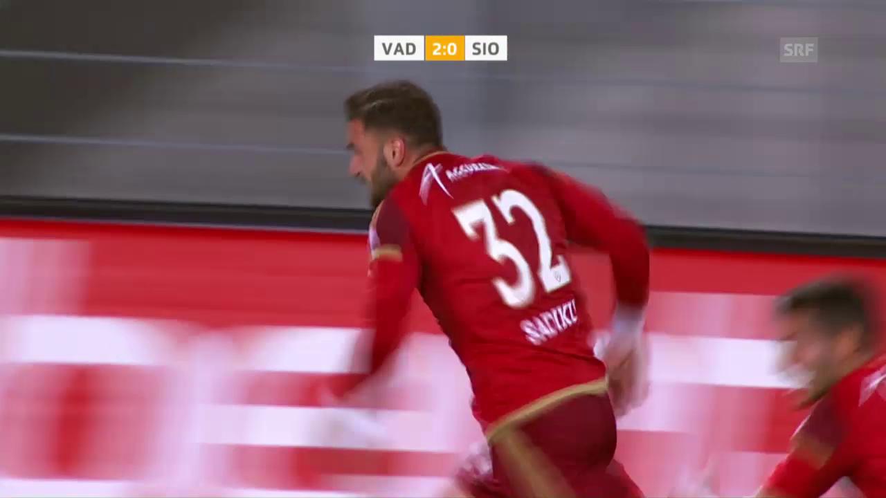 Vaduz mit wichtigem Sieg gegen Sion