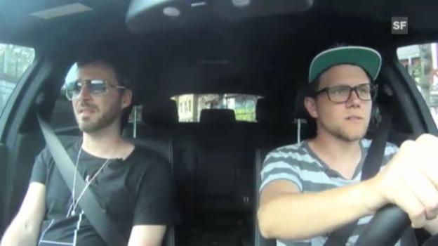 Video «Cover Me Outtakes: Greis unterwegs zu den Calimeros» abspielen