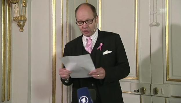 Video «Die Begründung der Nobelpreis-Jury (englisch)» abspielen