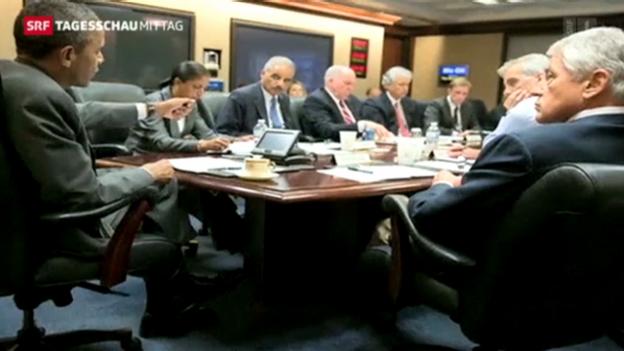 Video «Reaktion der USA auf die Absetzung Mursis» abspielen