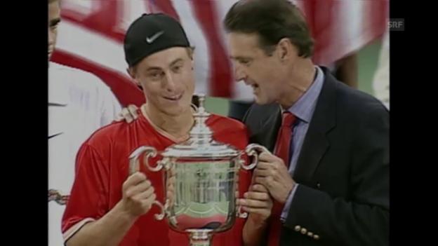 Video «Hewitts erster Grand-Slam-Titel in New York 2001» abspielen