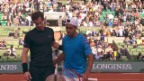 Video «Tennis: French Open, 1. Runde, Murray - Arguello» abspielen