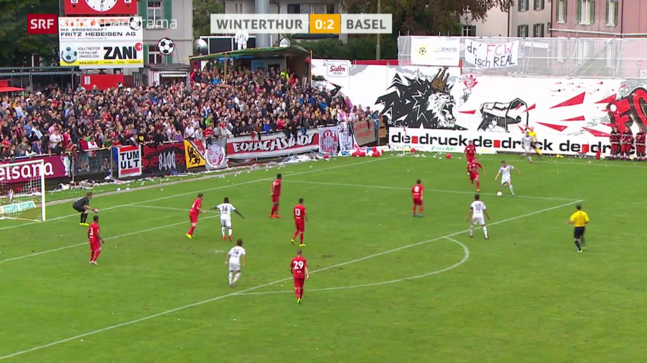 Fussball: Schweizer Cup, Winterthur - Basel