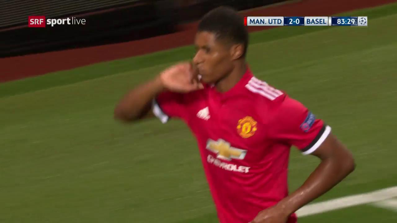 Rashfords Debüt-Treffer in der Champions League