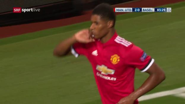 Video «Rashfords Debüt-Treffer in der Champions League» abspielen