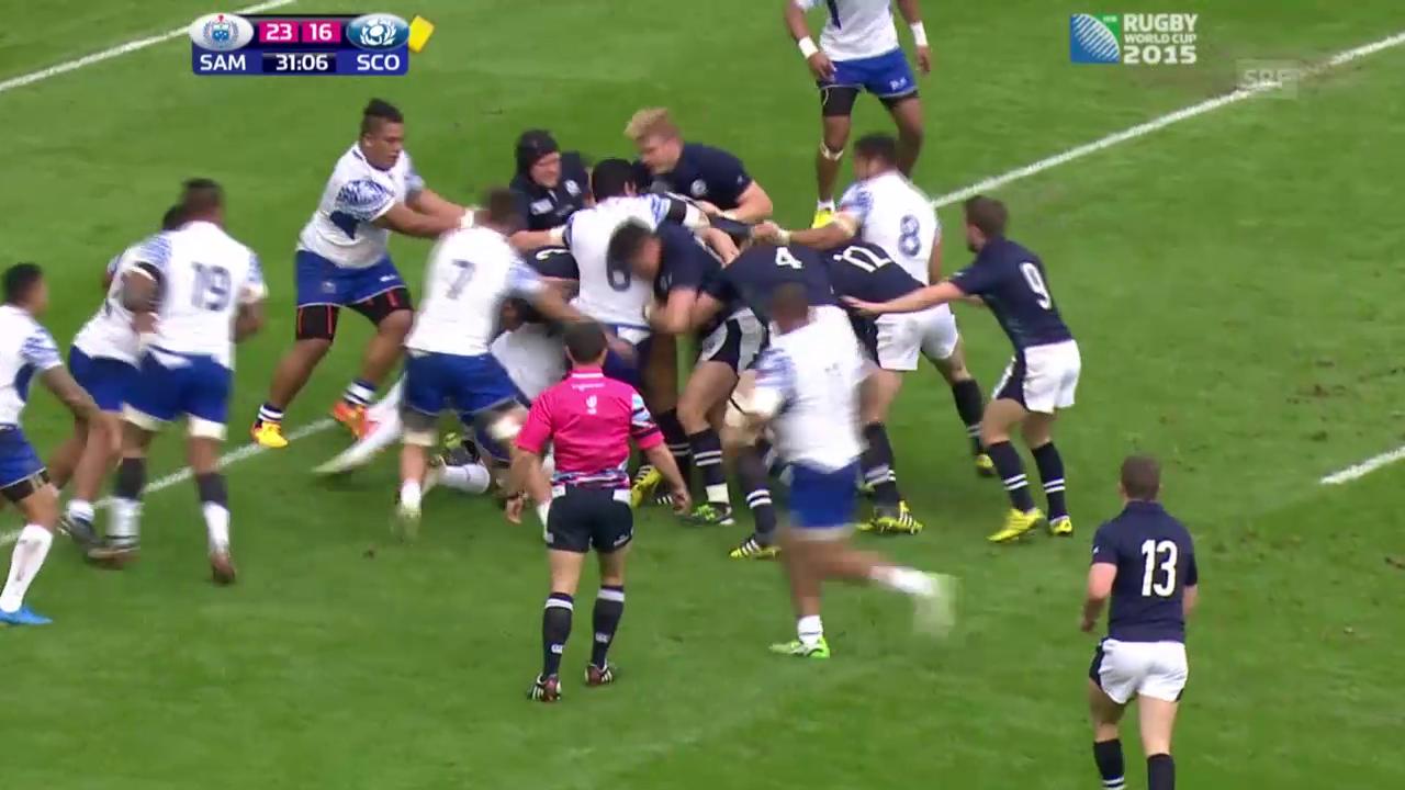 Rugby: Schottland-Samoa