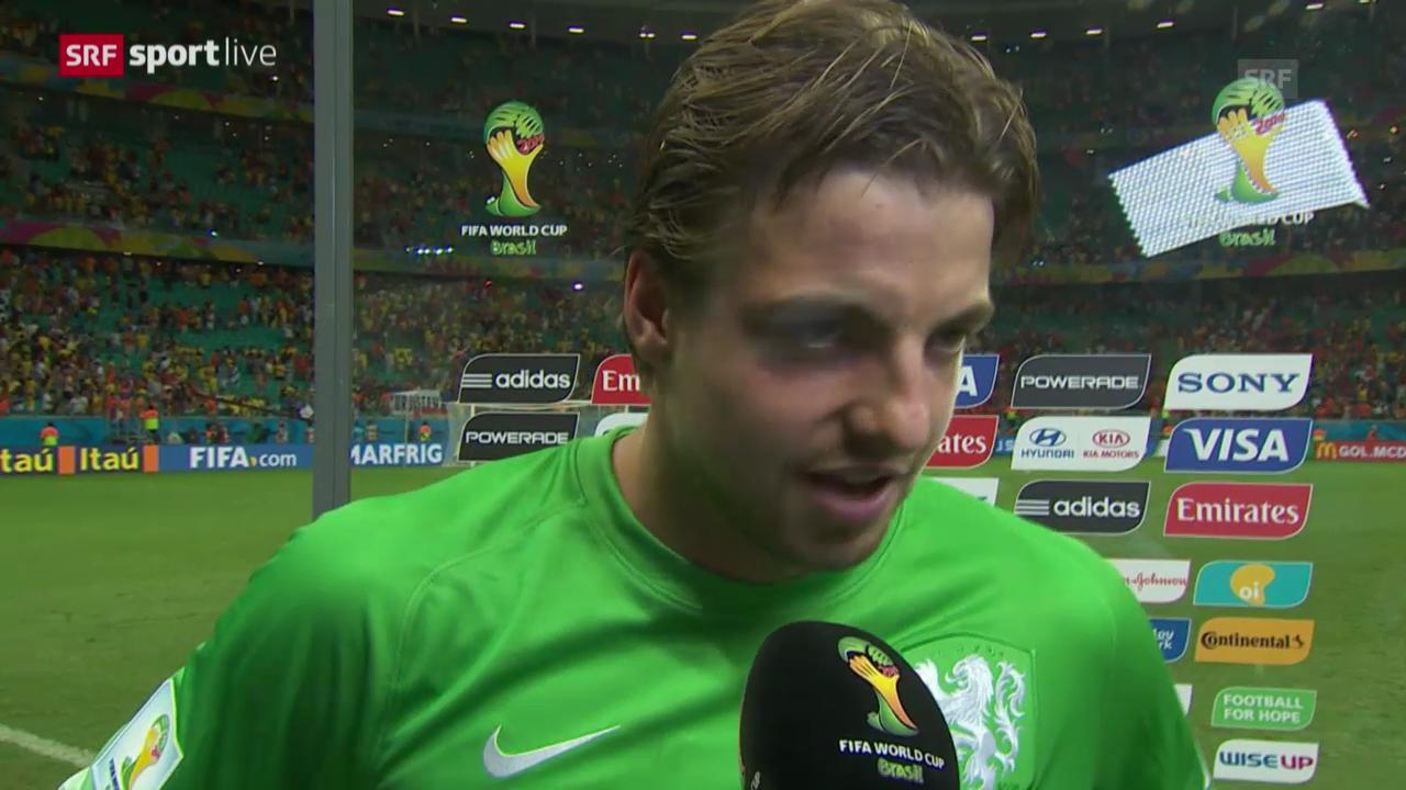 FIFA WM 2014: Interview mit Tim Krul