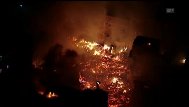 Video «Grossbrand in Paraisópolis» abspielen