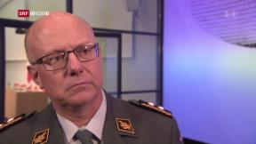 Video «Weshalb Philipp Rebord als Armeechef einiges zu tun hat» abspielen