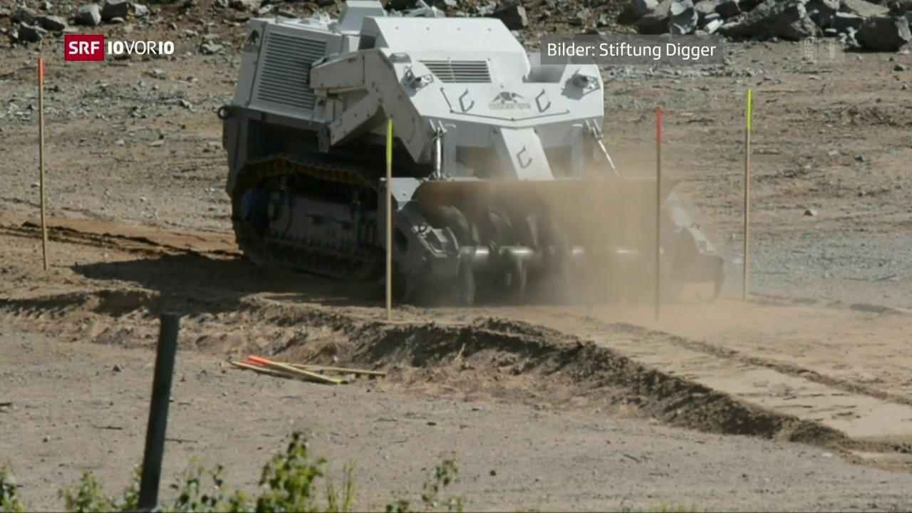 Schweizer Pioniere: Der Minenräumer