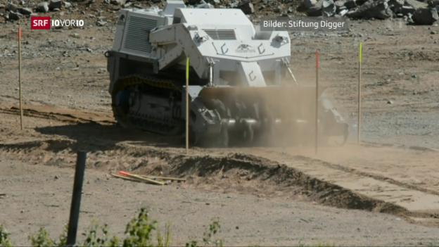 Video «Schweizer Pioniere: Der Minenräumer» abspielen