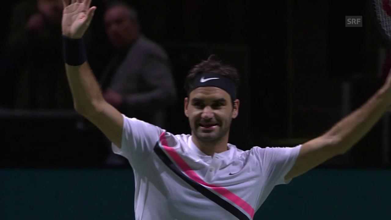 Federer fehlt noch 1 Sieg zur Nummer 1