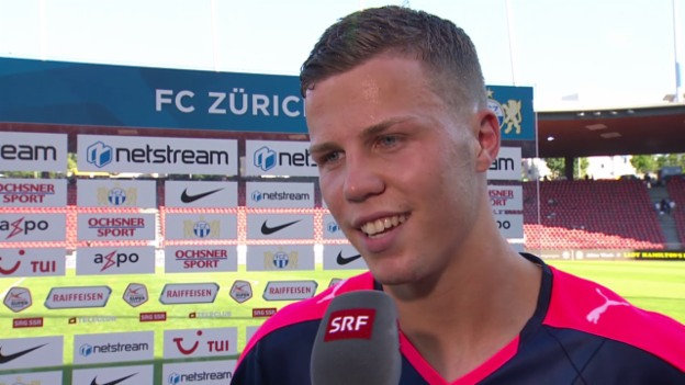 Video «fussball: FCZ-GC, Interview Florian Kamberi» abspielen