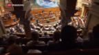 Video «Nationalrat will, dass gespart wird» abspielen