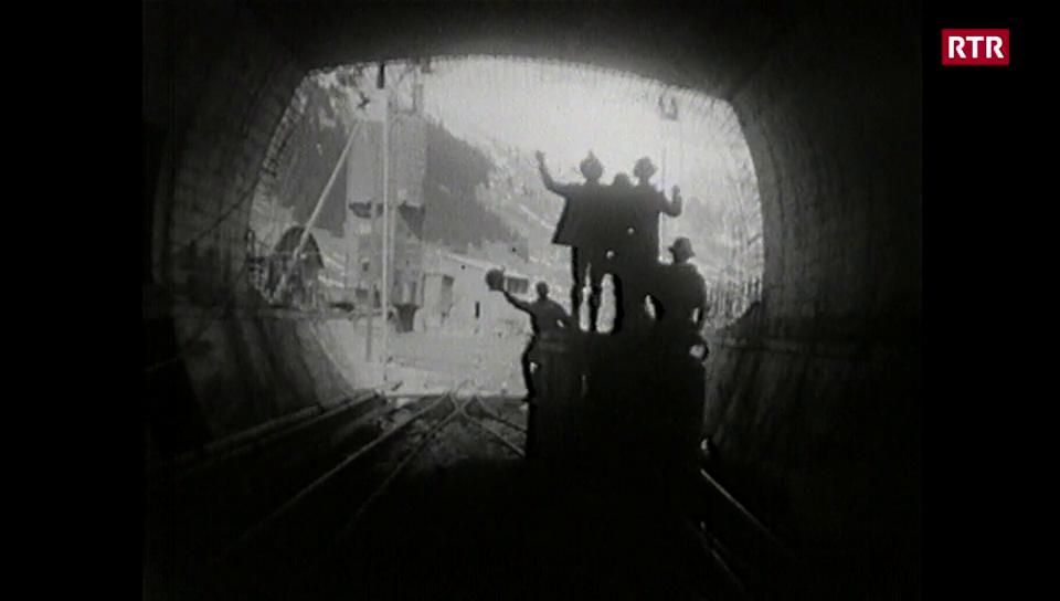 L'avertura dal tunnel dal San Bernardino