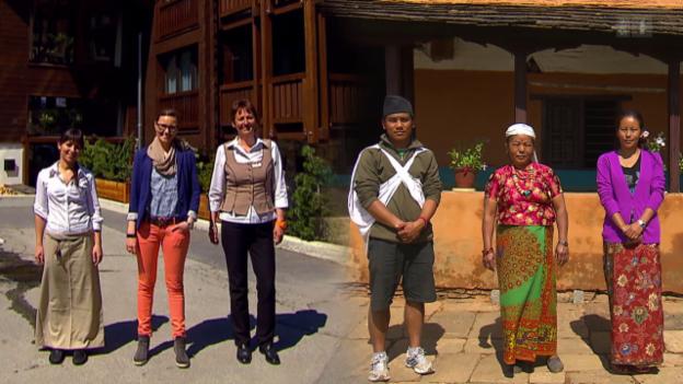Video «Hotelangestellte in Nepal» abspielen