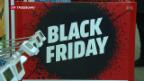 Video «Heute ist «Black Friday»» abspielen