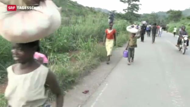 Video «Zentralafrikanische Republik ohne Staatschef» abspielen