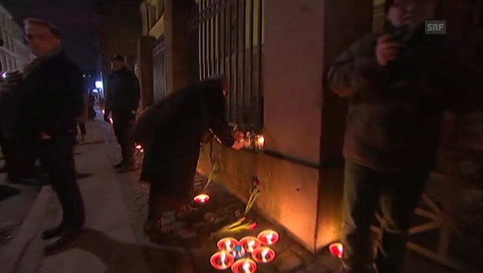 Kopenhagen gedenkt der beiden Terroropfer